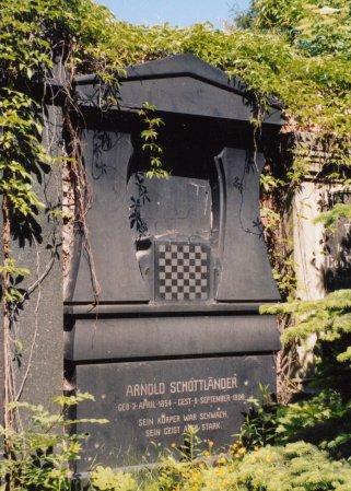 Grób Arnolda Schottlaendera