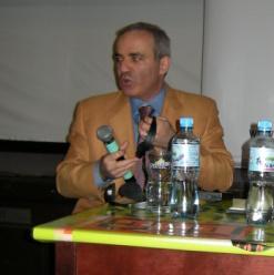 Kasparow w Warszawie