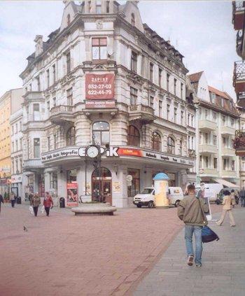 Budynek w Toruniu współcześnie